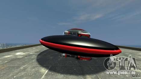 UFO neon ufo red für GTA 4 linke Ansicht