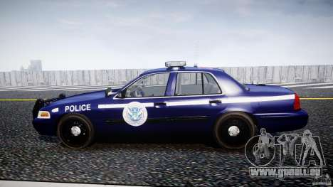 Ford Crown Victoria Homeland Security [ELS] für GTA 4 linke Ansicht