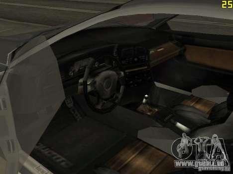 Guépard de GTA 4 pour GTA San Andreas vue arrière