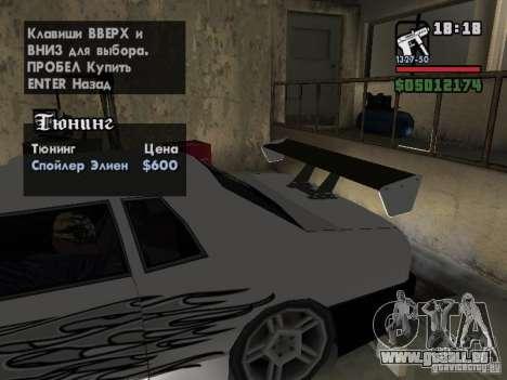 Ultra Elegy v1.0 für GTA San Andreas Räder