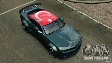 Chevrolet Camaro SS EmreAKIN Edition für GTA 4 Innen