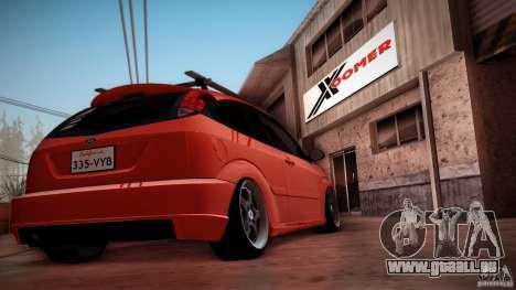 Ford Focus SVT Clean für GTA San Andreas Seitenansicht