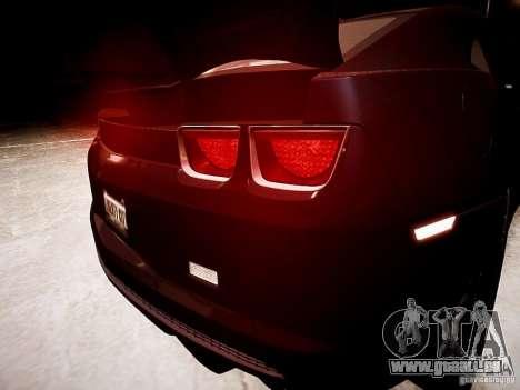 Chevrolet Camaro SS 2010 pour GTA 4 est un côté