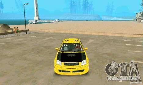INSETTA von FlatOut 2 für GTA San Andreas rechten Ansicht