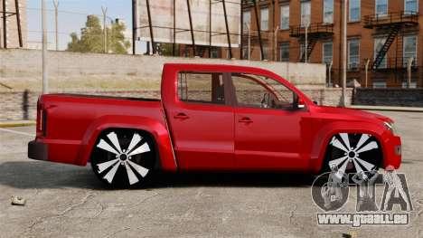 Volkswagen Amarok 2.0 TDi AWD Trendline 2012 pour GTA 4 est une gauche