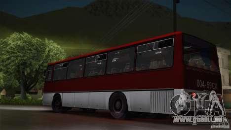 IKARUS 255.01 pour GTA San Andreas laissé vue