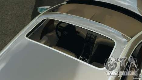 Honda Acura RL pour GTA 4 est une vue de dessous