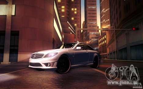 Mercedes Benz CL65 AMG pour GTA San Andreas roue