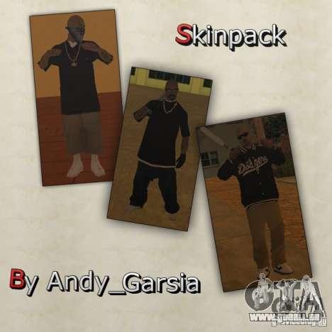 Aztecas Skins für GTA San Andreas