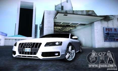 Audi S5 für GTA San Andreas Seitenansicht