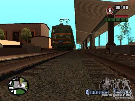 Vl85-030 pour GTA San Andreas vue de droite