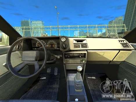 Toyota Corolla AE86 EPM v3.0 für GTA 4 Rückansicht