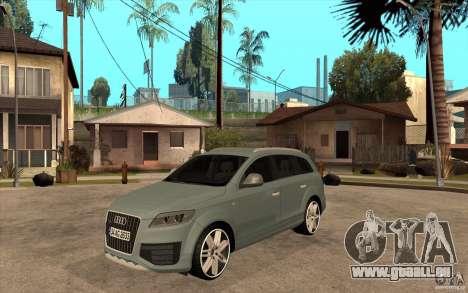 Audi Q7 V12 TDI 2011 pour GTA San Andreas