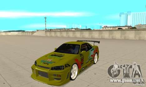 Nissan Skyline R34 GTR für GTA San Andreas