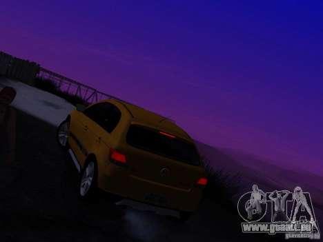 Volkswagen Gol Rallye 2012 für GTA San Andreas Innenansicht
