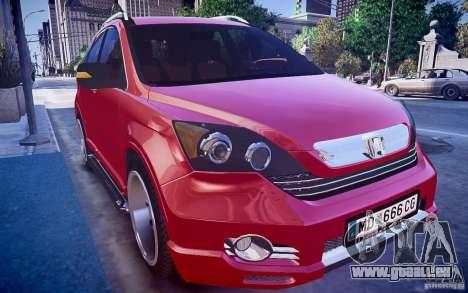Honda CR-V Light Tuning pour GTA 4 est un droit