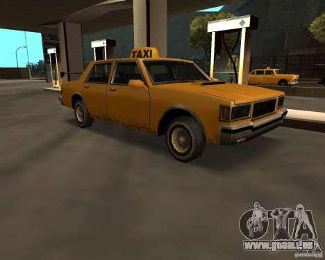 LV Taxi für GTA San Andreas zurück linke Ansicht