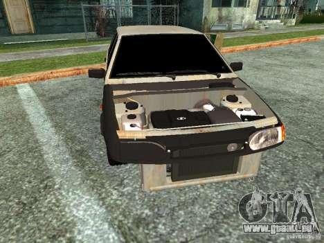ВАЗ 2114 Hobo für GTA San Andreas zurück linke Ansicht