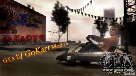 GoKart Mod 1.0 pour GTA 4 est une gauche