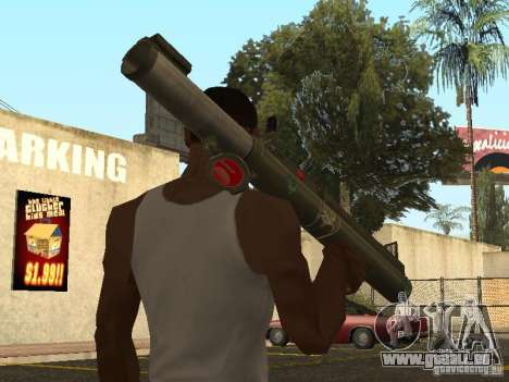 LAW Rocket launcher für GTA San Andreas zweiten Screenshot