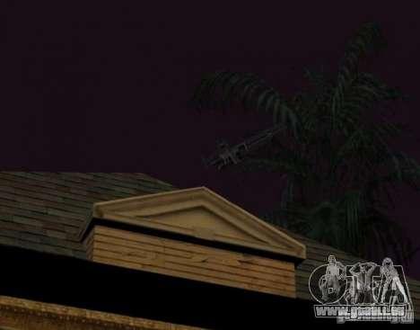 Armes et voitures partout sur la carte pour GTA San Andreas quatrième écran