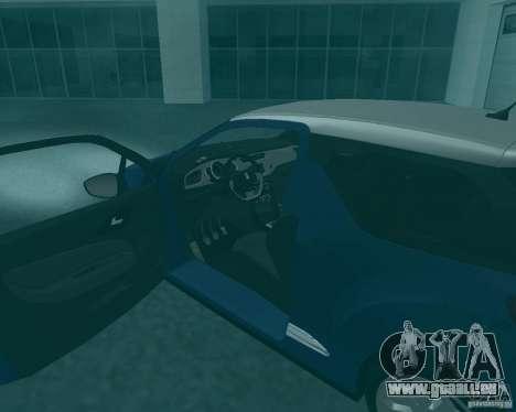 Citroen DS3 2011 für GTA San Andreas rechten Ansicht