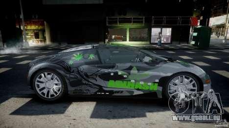 Bugatti Veyron 16.4 v1.0 new skin pour GTA 4 est une vue de l'intérieur
