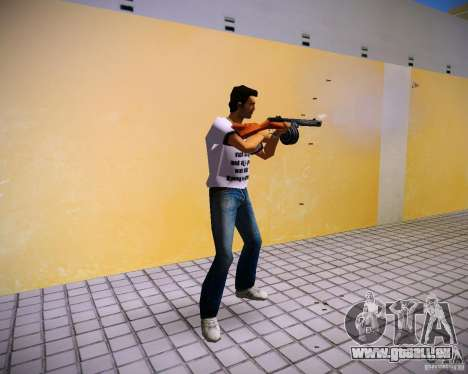 PPSH-41 für GTA Vice City zweiten Screenshot