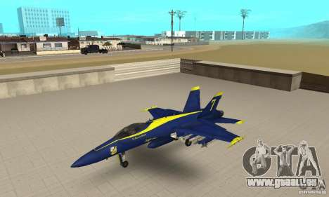 Blue Angels Mod (HQ) pour GTA San Andreas
