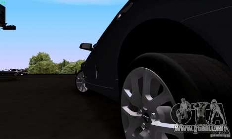 Pontiac G8 GXP pour GTA San Andreas vue arrière