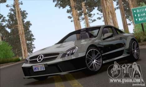 Mercedes-Benz SL65 AMG Black Series pour GTA San Andreas