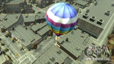 Balloon Tours option 7 pour GTA 4 Vue arrière de la gauche