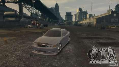Toyota Chaser 2.5 Tourer V pour GTA 4 est un droit