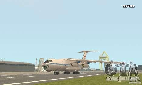 Iljuschin Il-76 MD für GTA San Andreas