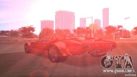 De Tomaso Pantera pour une vue GTA Vice City de la gauche