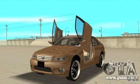 Lexus IS300 2005 für GTA San Andreas Innenansicht