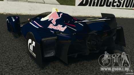 Red Bull X2010 pour GTA 4 Vue arrière de la gauche