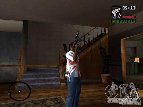 Tec9 HD für GTA San Andreas