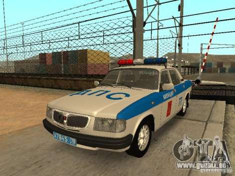 GAZ 3110 Polizei für GTA San Andreas