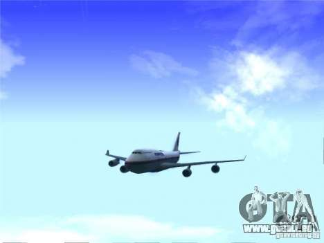 Boeing 747-400 Malaysia Airlines für GTA San Andreas