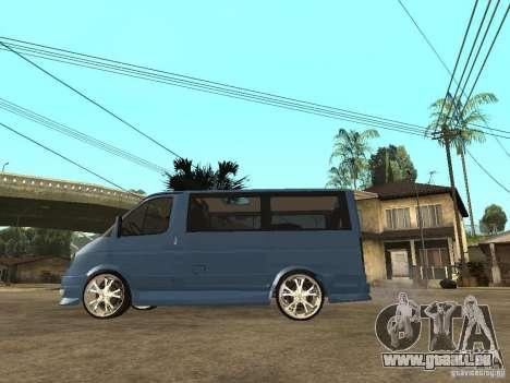 Gaz-2217-Barguzin Sable pour GTA San Andreas laissé vue