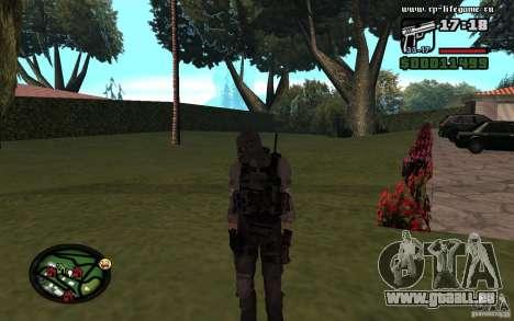 Skins nouveau féminin et masculin pour l'armée. pour GTA San Andreas