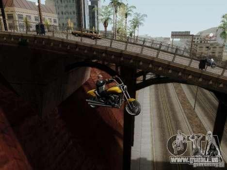 Vice City Freeway pour GTA San Andreas vue intérieure