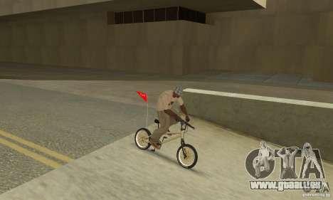 Neue BMX für GTA San Andreas Rückansicht
