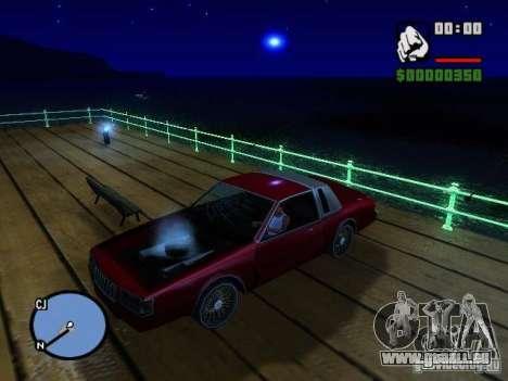 Timecyc BETA 2.0 pour GTA San Andreas quatrième écran