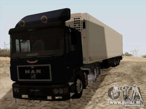 MAN F2000 6x4 pour GTA San Andreas