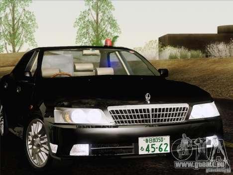 Nissan Laurel GC35 Kouki Unmarked Police Car für GTA San Andreas Rückansicht