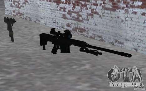 M98B pour GTA San Andreas troisième écran