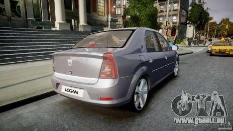 Renault Logan pour GTA 4 est un côté