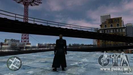RE5 Wesker für GTA 4 Sekunden Bildschirm